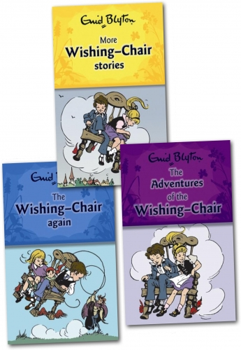 Children's gift set Wishing chair collection - Children's classics Wishing chair box set by Enid Blyton