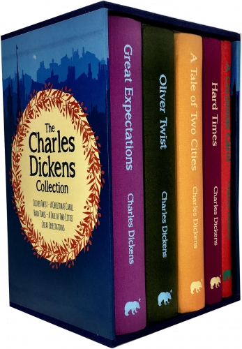 Charles Dickens 5 Books Collection Box Set by Charles Dickens