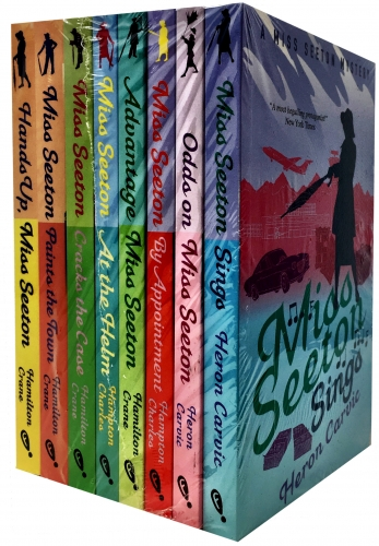 Miss Seeton Mysteries Collection 8 Books Set By Heron Carvic - Miss Seeton Sings, Odds on Miss Seeton, By Appointment, Advantage Miss Seeton by Heron Carvic
