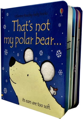Thats Not My Polar Bear - Touchy-Feely Board Books by Fiona Watt, Rachel Wells