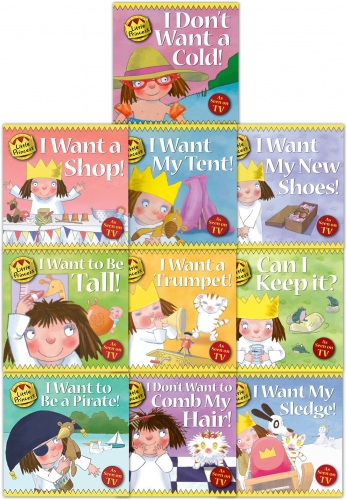 Little Princess Story Collection Tony Ross 10 Books Set by Tony Ross
