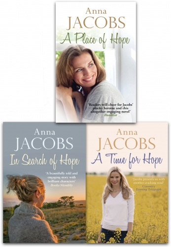 Anna Jacobs Hope Trilogy 3 Books Collection Set (A Place of Hope, In Search of Hope, Time For Hope) by Anna Jacobs
