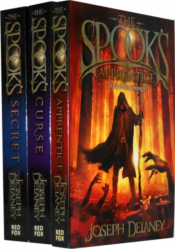 The Spooks 3 Books Collection Set By Joseph Delaney - The Spooks Apprentice, The Spooks Curse, The Spooks Secret by Joseph Delaney