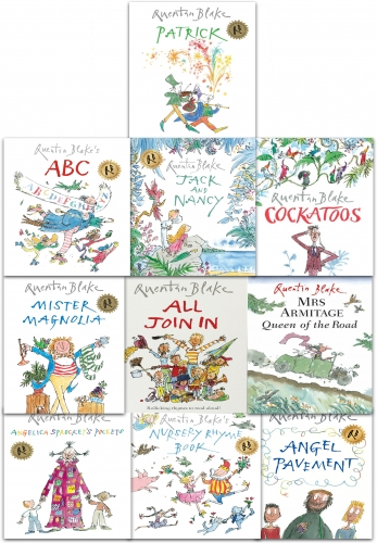 Quentin Blake 10 Picture Books Collection Set in a Bag (Set 2) by Quentin Blake