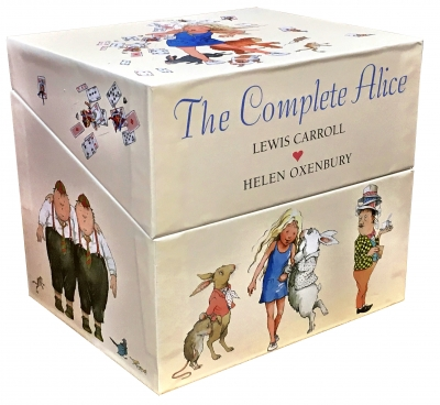 The Complete Alice Adventure In Wonderland - 22 Books Collection Box Set By Lewis Carroll and Helen Oxenbury (Alice In Wonderland) by Lewis Carroll, Helen Oxenbury