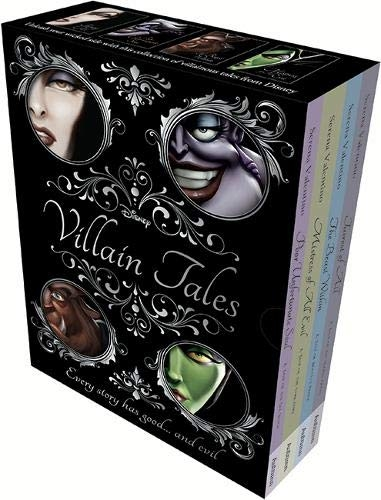 Disney Villain Tales Collection 4 Books Set By Serena Valentino - Snow White, Sleeping Beauty, Beauty and the Beast, Little Mermaid by Serena Valentino