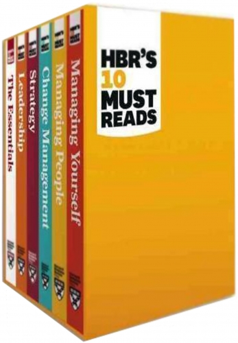 HBRs 10 Must Reads Collection 6 Books Box Set by Harvard Business
