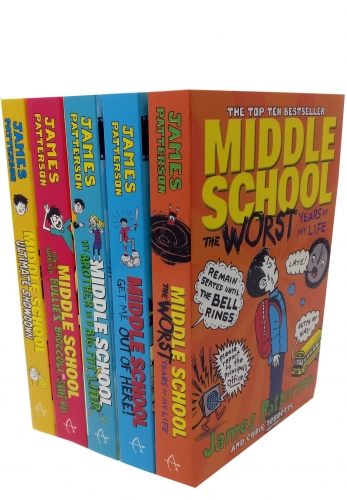 Middle School Collection 5 Book Collection Set by James Patterson