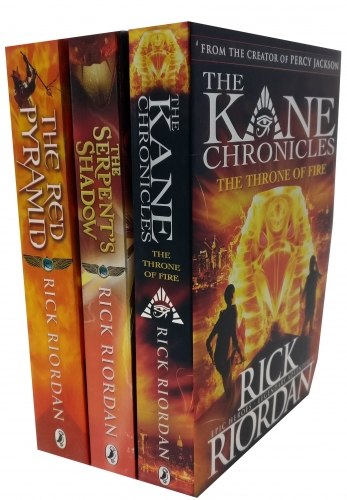 The Kane Chronicles Collection Rick Riordan 3 Books Set by Rick Riordan