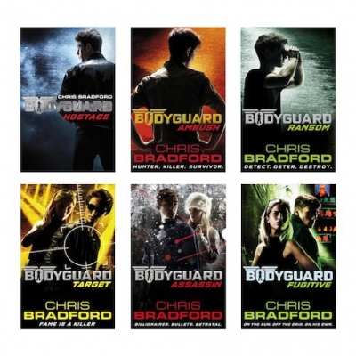 Bodyguard Series Collection Chris Bradford 6 Books Set by Chris Bradford