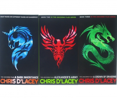 Unicorne Files Series Chris D Lacey Collection 3 Books Set by
