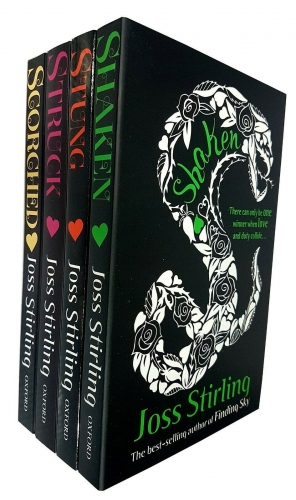 Joss Stirling Young Detective Agency Series of 4 Books Set Scorched Shaken Struck Stung by Joss Stirling