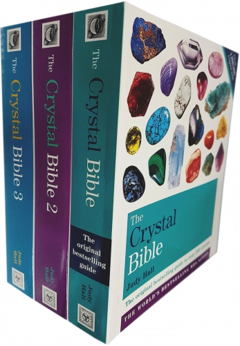 Judy Hall The Crystal Bible Volume 1-3 Books Set Collection Godsfield Bibles by Judy Hall