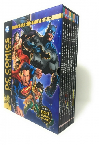 DC Comics A Visual History Collection Year by Year From the Golden Age to Modern Age 8 Books Set by DC Comics