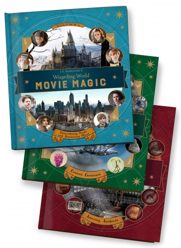 Wizarding World Movie Magic 3 Books Collection Set (Amazing Artifacts, Extraordinary People and Fascinating Places, Curious Creatures) by J.K. Rowling