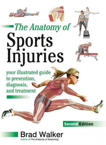 The Anatomy of Sports Injuries Your Illustrated Guide to Prevention, Diagnosis and Treatment by Brad Walker