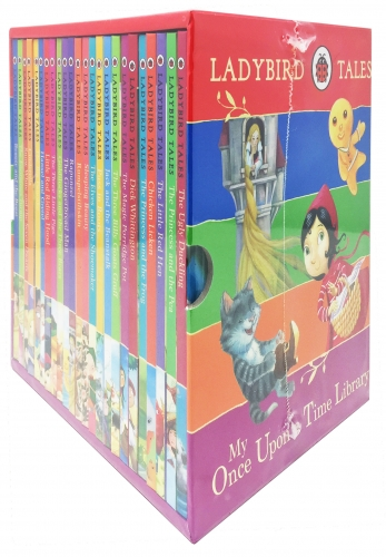 Ladybird Tales My Once Upon a Time Library Children Classics Collection 24 Books Box Gift Set Pack Stories (Early Reader - Age 3 to 5) by Ladybird