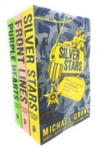 Michael Grant The Front Lines Series 3 Books Collection Set (Front Lines, Silver Star, Purple Hearts) by Michael Grant