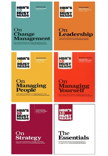 HBRs 10 Must Reads Leadership Collection 6 Books Collection Set - Change Management, Strategy, Leadership, Managing People, Managing Yourself and More by Harvard Business Review