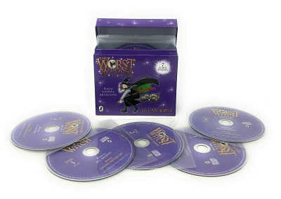 The Worst Witch by Jill Murphy 12 CDs Audio Collection 7 Audio Stories on 12 CDs by Jill Murphy