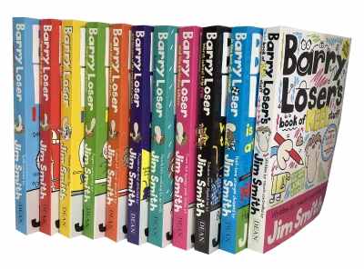 Barry Loser Collection Jim Smith 11 Books Set by Jim smith