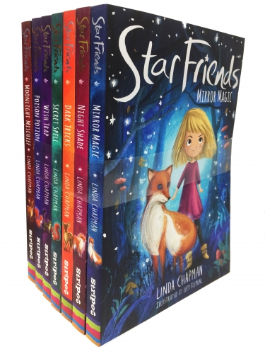 Linda Chapman Star Friends Series 7 Books Collection Set (Mirror Magic, Wish Trap, Poison Potion, Secret Spell, Dark Tricks, Night Shade and More) by Linda Chapman (Author), Lucy Fleming (Illustrator)