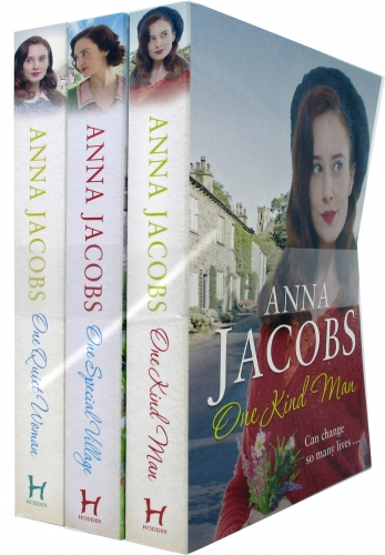 Anna Jacobs Ellindale Series 3 Books Collection Set (One Kind Man, One Special Village, One Quite Woman) by Anna Jacob