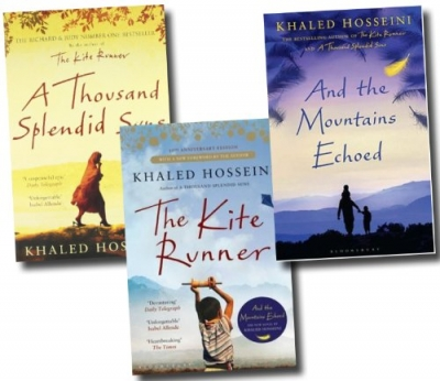 Khaled Hosseini 3 Books Collection Set - The Kite Runner, A Thousand Splendid Suns, And The Mountains Echoed by Khaled Hosseini