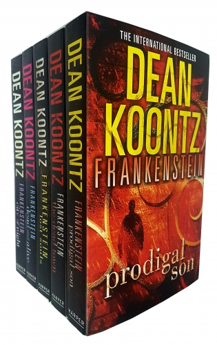 Dean Koontz Frankenstein Series Collection 5 Books Set Pack by Dean Koontz
