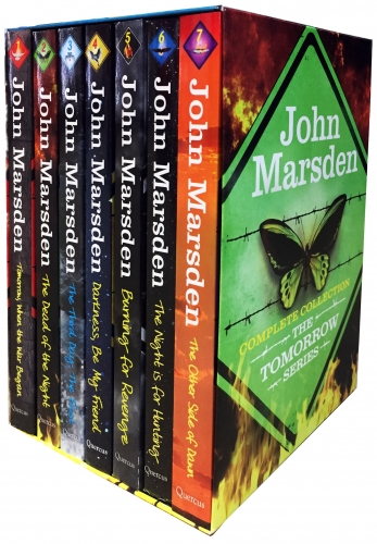 John Marsden Complete Collection The Tomorrow Series 7 Books Other Side of Dawn, Third Day, Darkness, Dead of the Night, Tomorrow by John Marsden