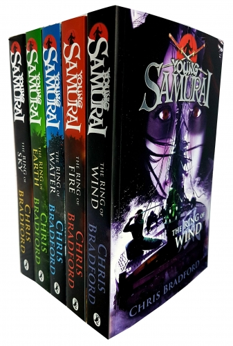 Chris Bradford Young Samurai Series Collection 5 Books Set (4-8) by Chris Bradford
