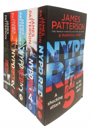 James Patterson NYPD Red Collection 5 Books Set NYPD Red NYPD Red 2 NYPD Red 3 NYPD Red 4 NYPD Red 5 by James Patterson