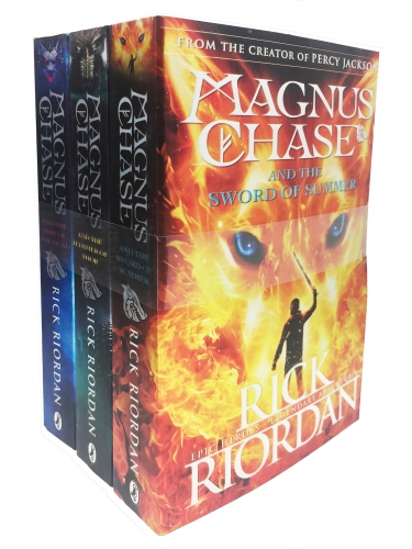 Magnus Chase and the Gods of Asgard Series Collection 3 Books Set By Rick Riordan - Book 1-3 by Rick Riordan