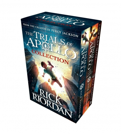 Trials of Apollo Collection 3 Books Box Set (The Hidden Oracle, The Dark Prophecy, Confidential) by Rick Riordan