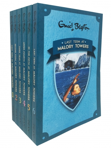 Enid Blyton Malory Towers 6 Books Collection Set Pack 1 - 6 by Enid Blyton