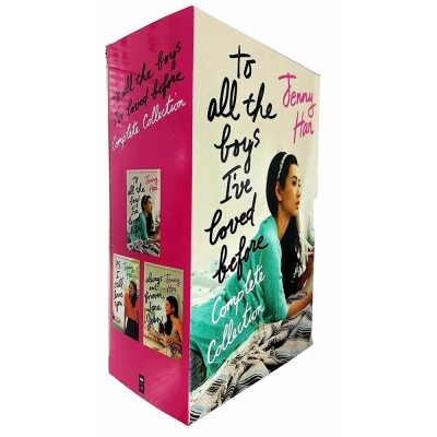 To All the Boys I've Loved Before 3 Books Complete Collection by Jenny Han