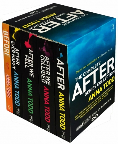 The Complete After Series Collection 5 Books Box Set by Anna Todd After Ever Happy, After, After We Collided, After We Fell, Before by Anna Todd