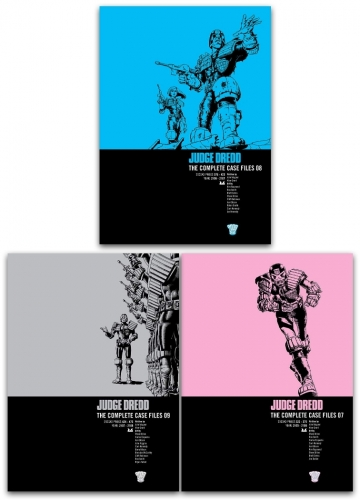 Judge Dredd Complete Case Files Volume 7-9 Collection 3 Books Set by John Wagner by John Wagner