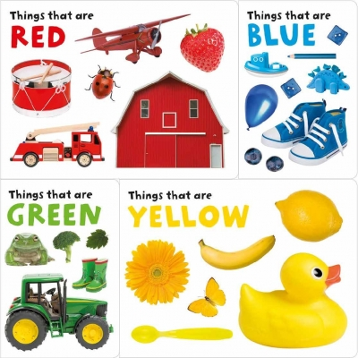 My Colour Box Things That Are Red, Blue, Green, Yellow by Priddy Books