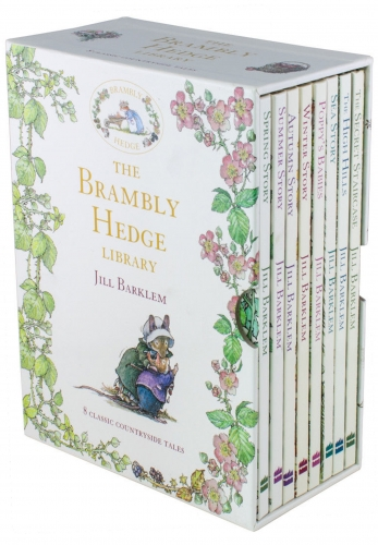 The Brambly Hedge Library 8 Books Box Set by Jill Barklem by Jill Barklem