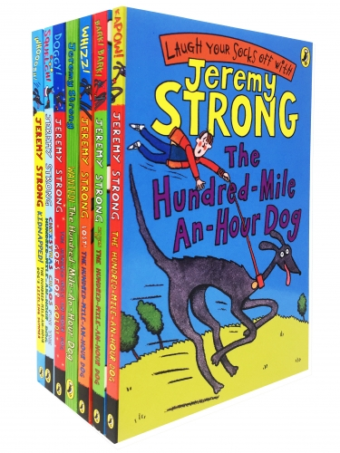 Jeremy Strong The Hundred-Mile-An-Hour Dog Collection 7 Books Set Pack by Jeremy Strong