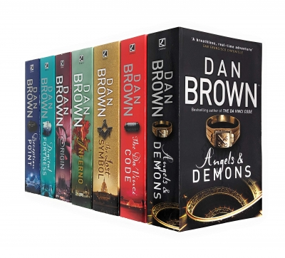 Dan Brown Robert Langdon Series 7 Books Collection Set by Dan Brown