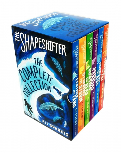 The Shapeshifter Complete Collection 6 Books Box Set Finding the Fox Running the Risk Going to Ground Dowsing the Dead Stirring the Storm by Ali Sparkes