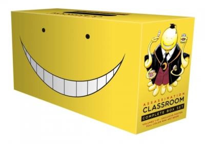 Assassination Classroom Complete Box Set: Includes volumes 1-21 with premium by Yusei Matsui