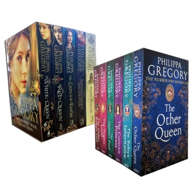 Philippa Gregory Tudor Court and Cousins War Series 11 Books Collection Set by Philippa Gregory