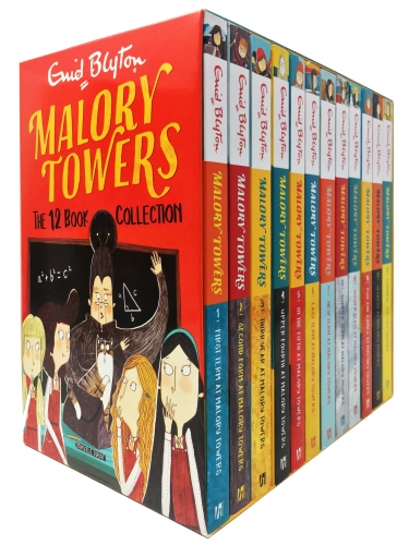 Enid Blyton Malory Towers The 12 Books Complete Collection by Enid Blyton