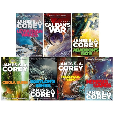 James S A Corey Expanse Series 7 Books Collection Set by James S. A. Corey