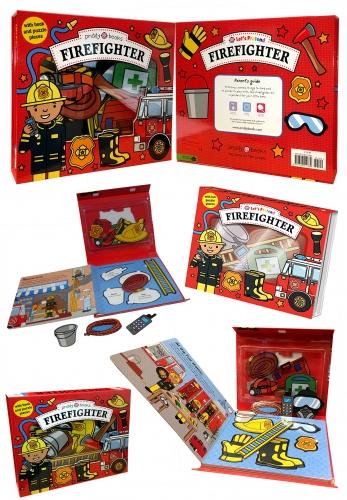 Lets Pretend Firefighter Lets Pretend Sets by Roger Priddy