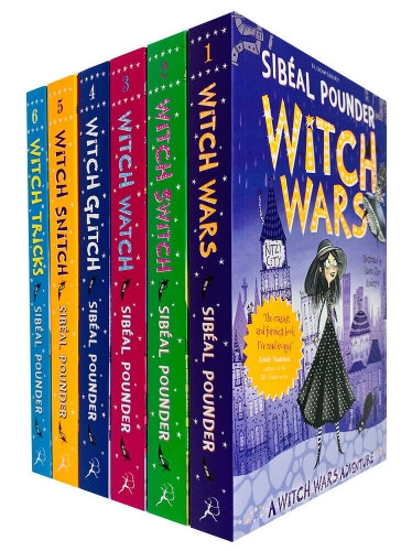 The Witch Wars Series Collection 6 Books Set by Sibeal Pounder Witch Wars, Witch Switch, Witch Watch, Witch Glitch, Witch Snitch, Witch Tricks by Sibeal Pounder