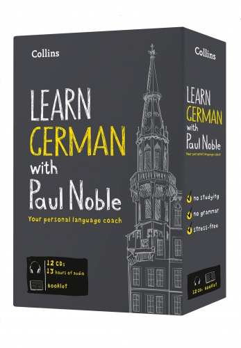 Learn German with Paul Noble Collins 12 CDs, Booklet, DVD Collection Box Set by Paul Noble